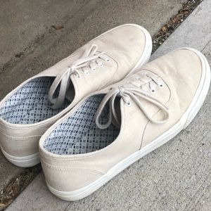 Old Navy Lace Up Natural Beige Casual Shoe